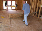 March 26 - Glue application before subfloor