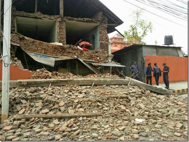 terremoto en nepal 2015