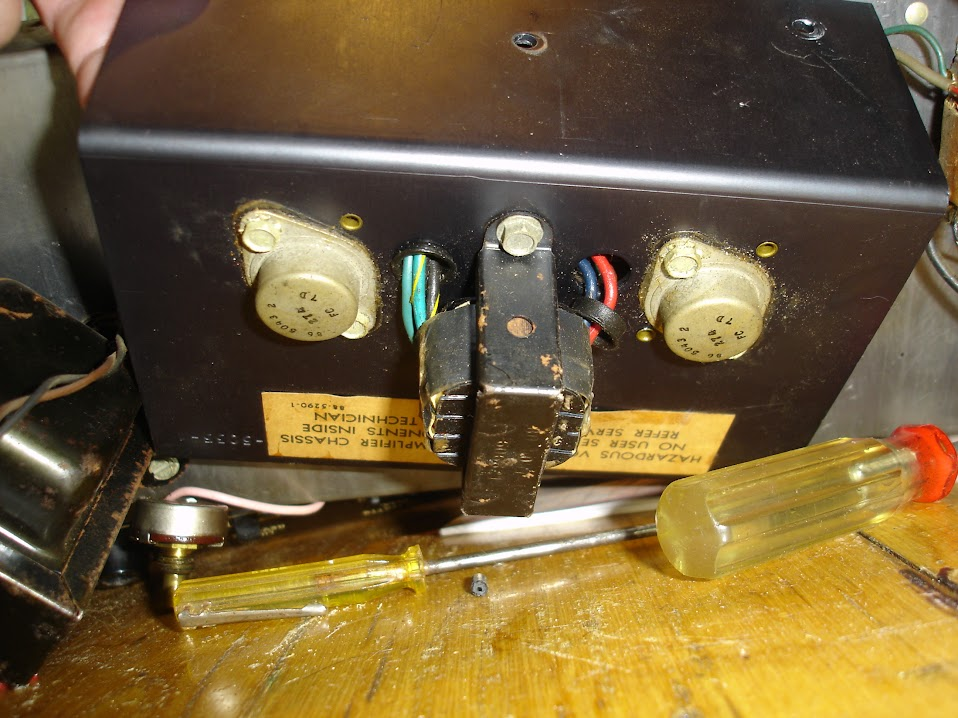 Vintage Amps Bulletin Board � View topic - Repalcement Transistors ...