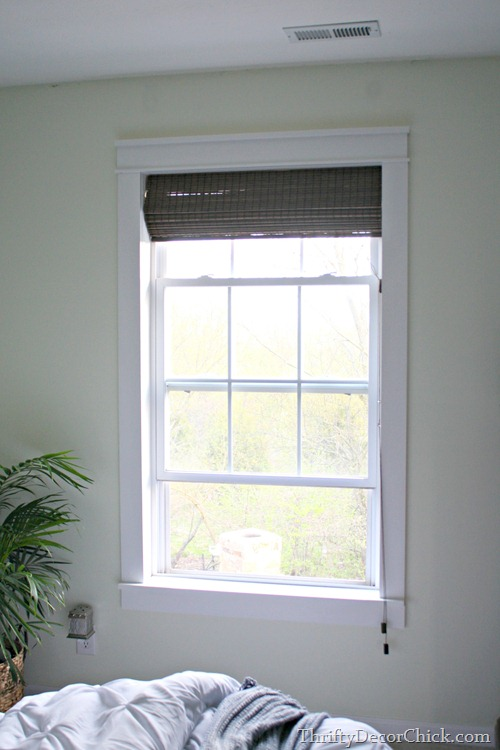 Trim Makes The Difference From Thrifty Decor Chick - Craftsman window treatments