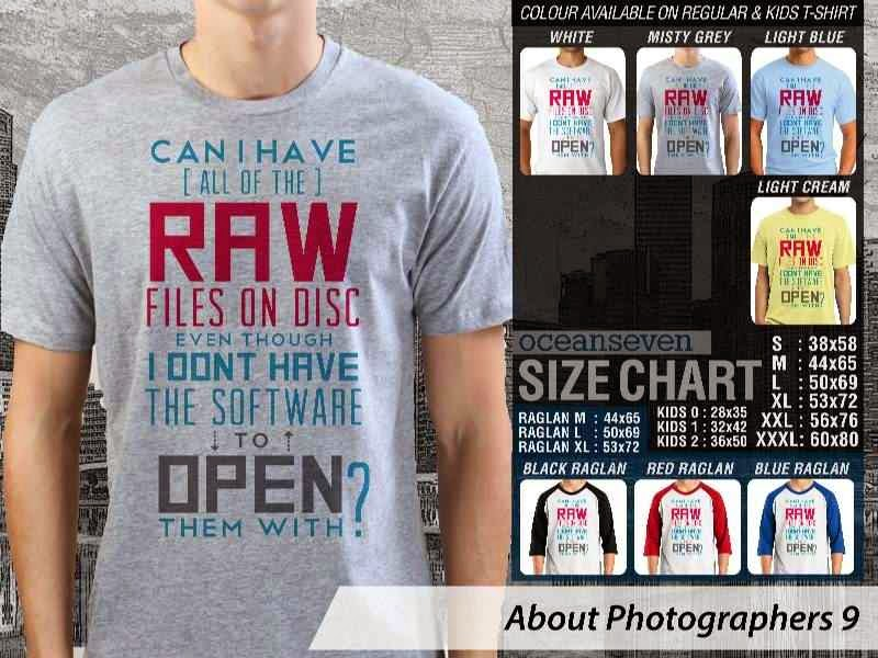 KAOS Photography raw files on disc About Photographers 9 distro ocean seven