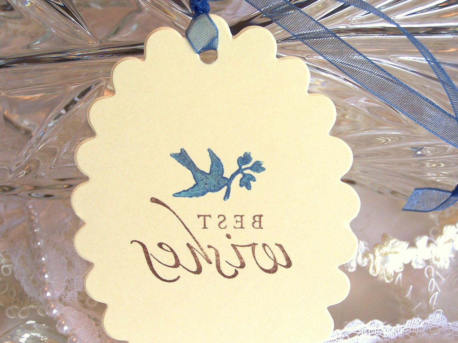 50 Wedding Wish Tags Wedding