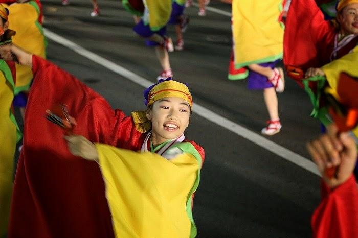 第60回よさこい祭り☆本祭2日目・升形地域競演場32☆上2目2622