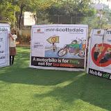 Traffic awareness programme in Swarnapuri branch