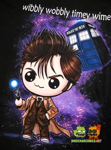 Diseño 10th Dr. Who