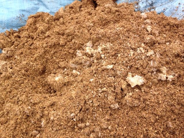 米ぬか乳酸菌肥料 白カビ