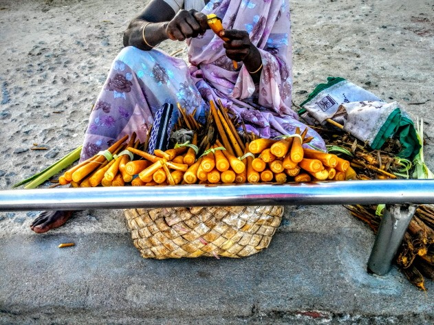 Local Snacks to munch on at Tiruchendur Temple beach