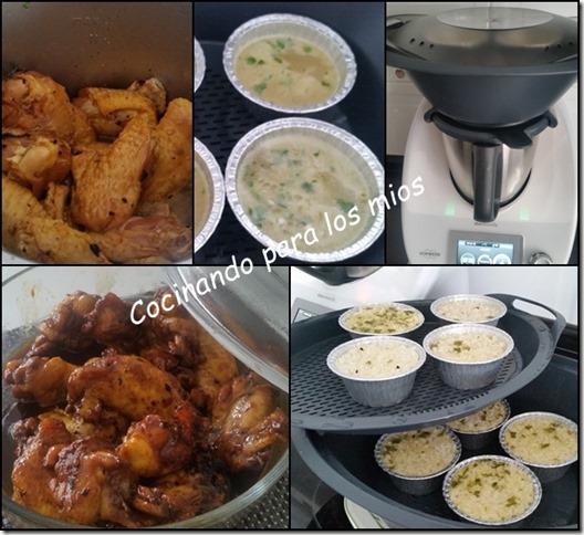 alitas de pollo con salsa de soja y guarnicion de arroz2