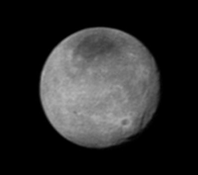 sistema de abismos e crateras de Caronte