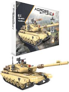 """Конструктор серии """"BrickBattle"""", современный танк Type 99, песочный"""