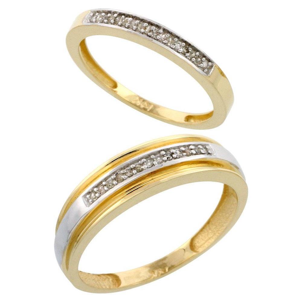 This Gorgeous Wedding Ring Set