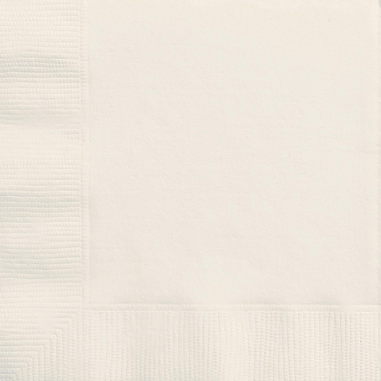 Ivory Napkins - Pack 20