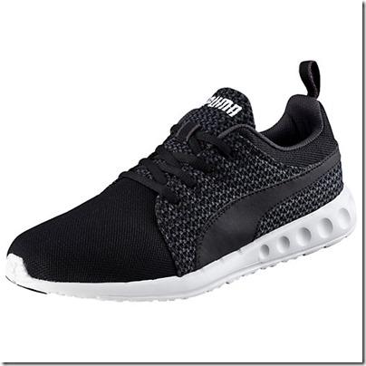 Puma Carson Runner Knit Men Running Shoes - periscope-black USD 65.00
