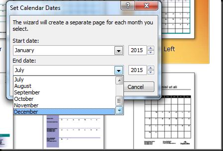 cara mendesain calendar 5