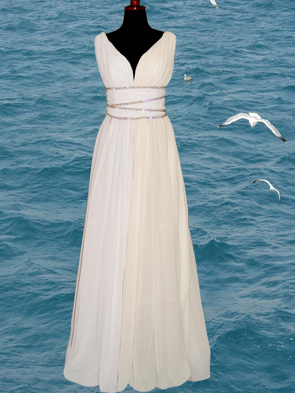 Marne 39 s blog greek goddess wedding dress for Grecian goddess wedding dresses