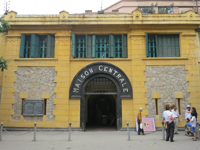 "Entrance to the ""Hanoi Hilton"" prison."