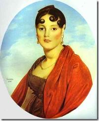 Jean-Auguste-Dominique-Ingres-Portrait-of-Madame-Aymon-La-belle-Zelie
