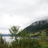 Nabij het Innvjik-fjord