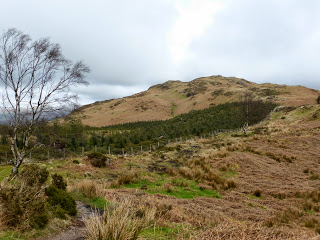 Looking towards Hooker Crag - Muncaster Fell