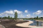 Stadtpark in Anschero-Sudschensk / В городском парке Анжеро-Судженска