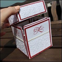 Explosion Box Love Wedding Hochzeit Cake 003