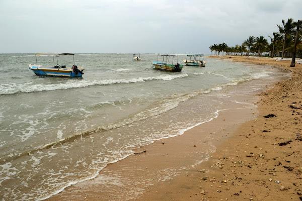 Лодки у берега, Шри Ланка