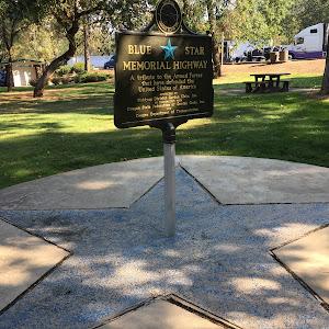 Blue Star Memorial Highway Grants Pass