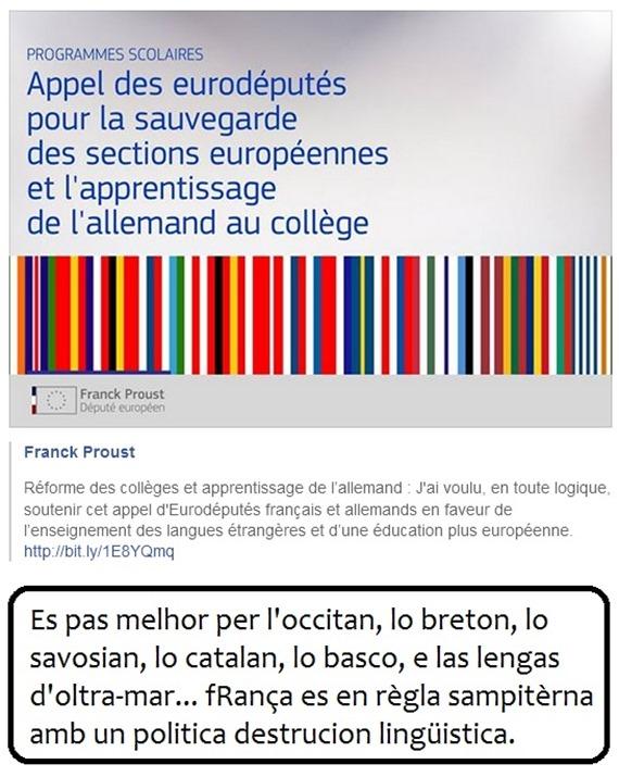 destrucion lingüistica francesa