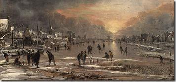Rio Congelado 1660