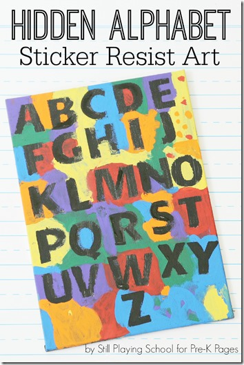 Alphabet Craft for Kids