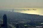 Widok z Burj Kalifa (zachód)