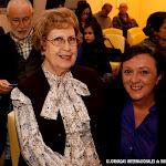 Dª Rosa Gil Bosque, catedrática de guitarra, antes del concierto Homenaje a Tárrega.