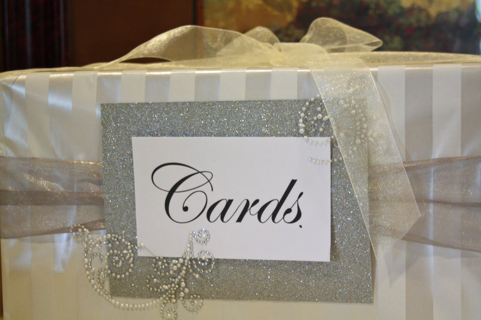 card boxes for weddings at a
