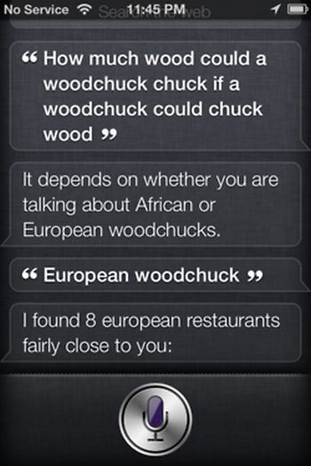 Cool Things That Siri Says