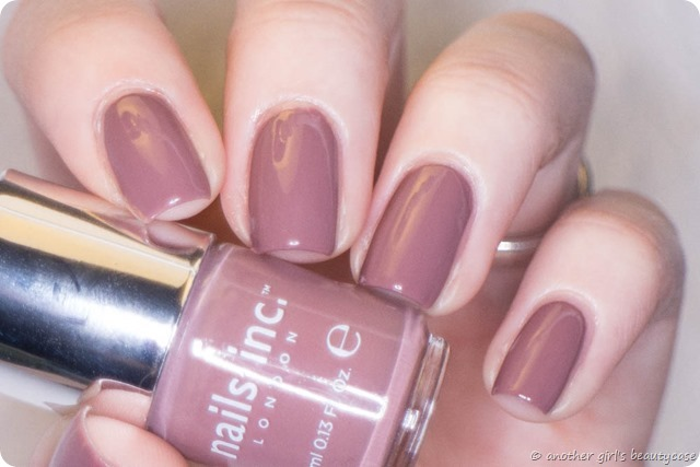 LFB Altrosa muted rose nails inc jermyn streeet swatch