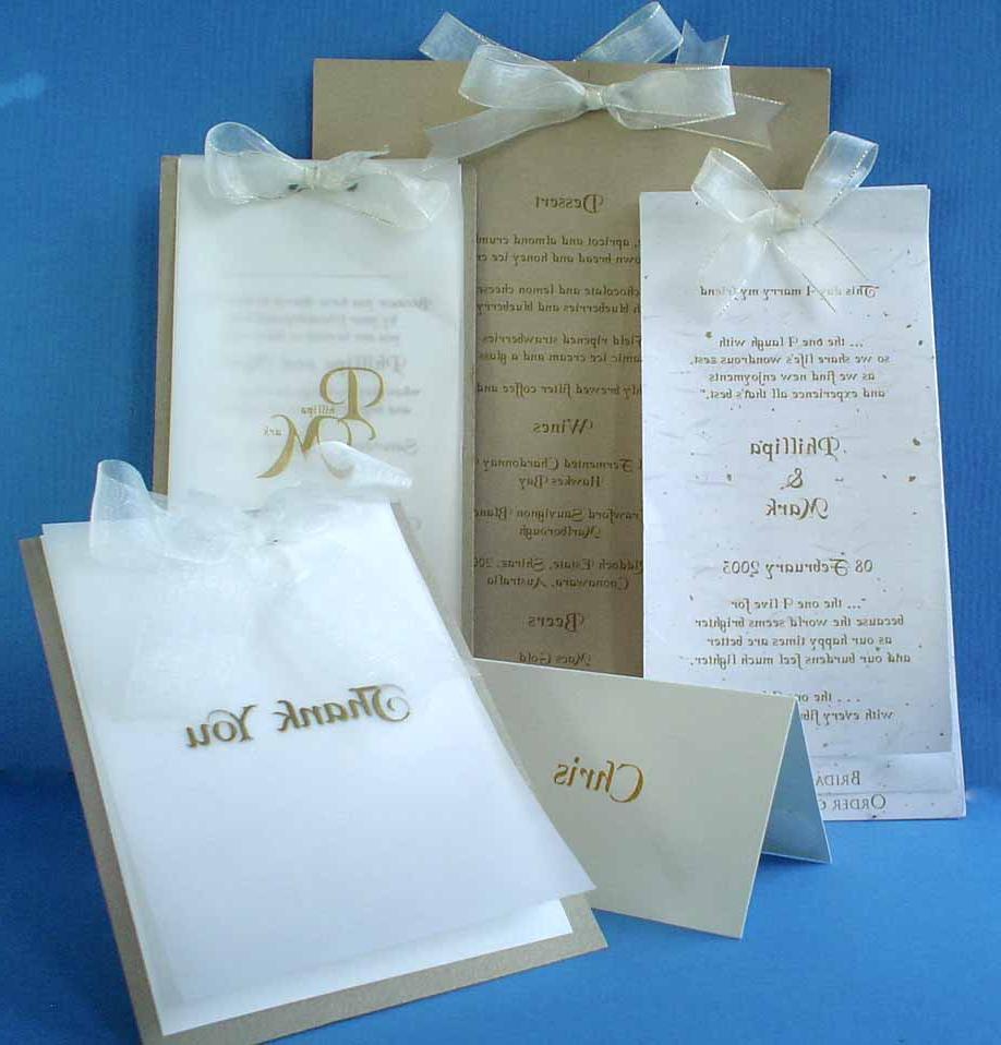 DLE Wedding Invitation