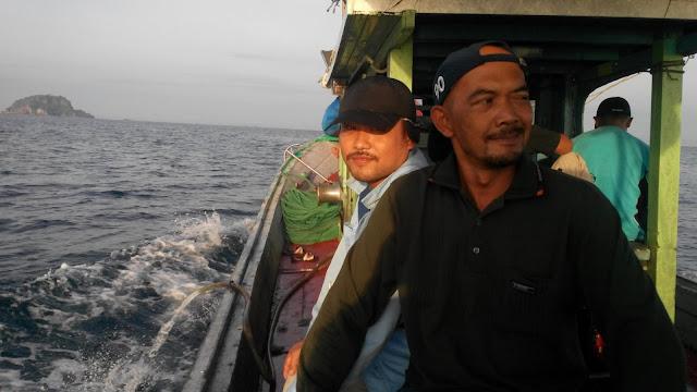 Perjalanan pulang dari Pulau Kapas