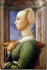 4 fra filippo lippi, portrait of a lady