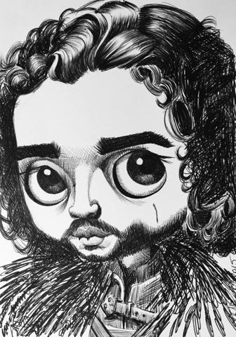 studio de shan: 100 drawings in 100 days jon snow