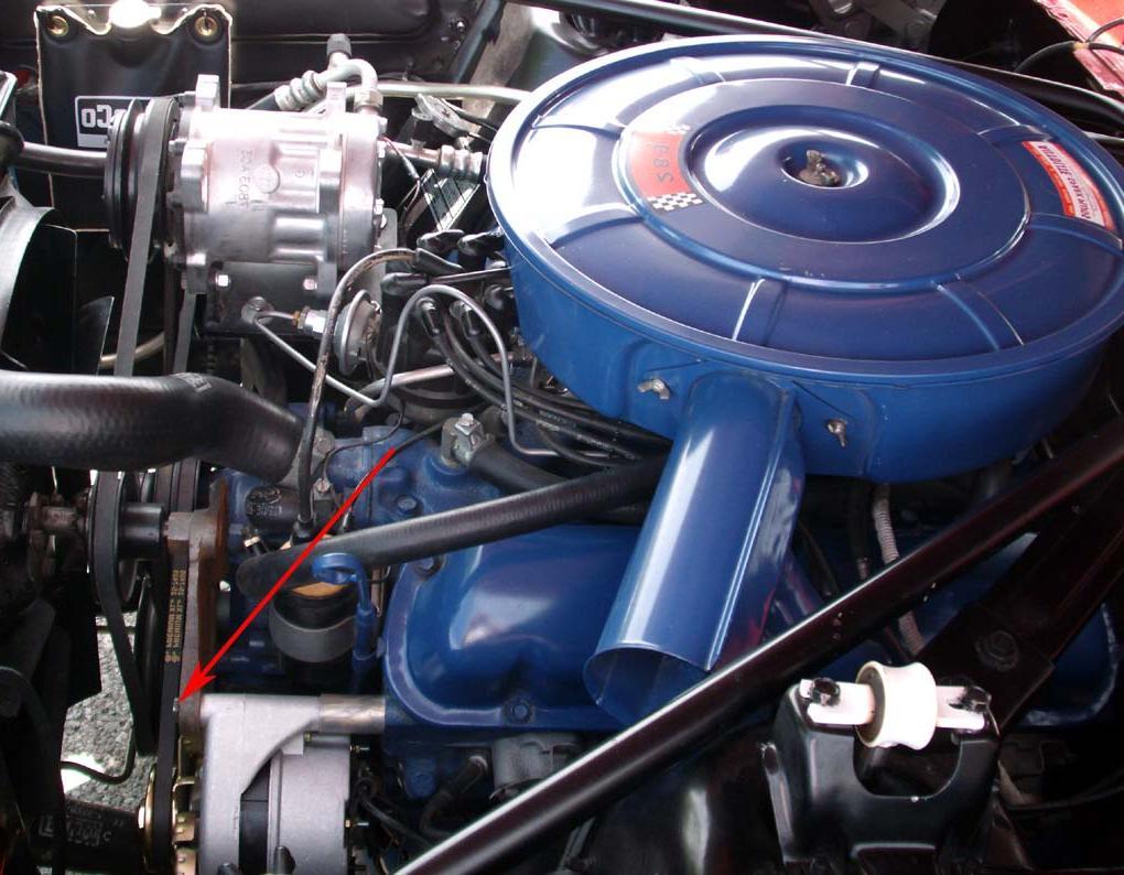 1965 mustang alternator.