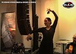 Aero Series de Das Audio, 40 años apoyando la música. Julia Grecos durante la conferencia 'La Guitarra flamenca y el baile' en las Jornadas de Guitarra