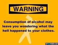 alcohol warning