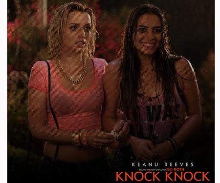 Ana De Armas and Lorenza Izzo - Knock Knock