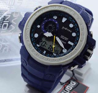 jam tangan Digitec 2084T full blue rubber Original
