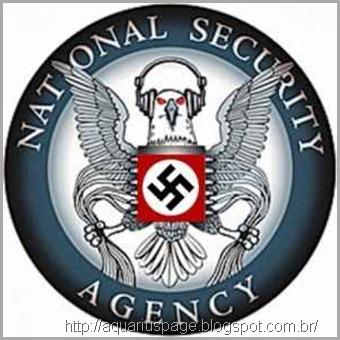 NSA é a a maior rede de espionagem americana invadindo a democracia de muitos países.