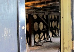 1511081 Nov 17 Barrels Stacked In The Building