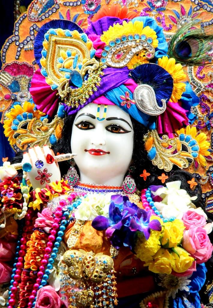 ISKCON Juhu Sringar Deity Darshan 14 Jan 2016 (13)