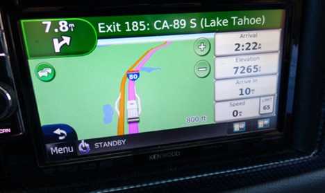 GPS over Donner Pass