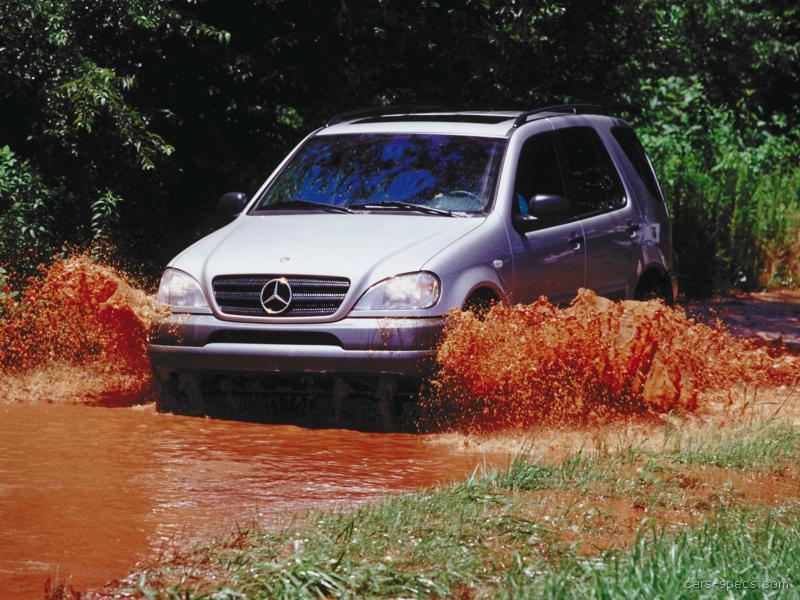 2002 mercedes benz m class suv specifications pictures for How much is a mercedes benz suv