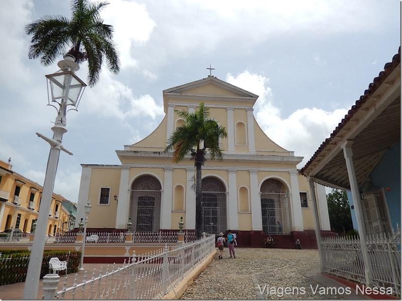 Igreja em Trinidad, Plaza Maior, Cuba